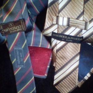 Valentino Accessories - Lot of 6 designer ties